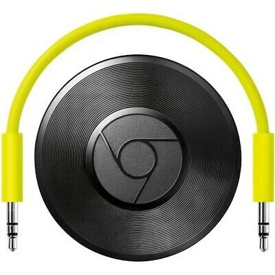 Google Chromecast Audio Media Streamer - Black (GA3A00147-A14-Z01)