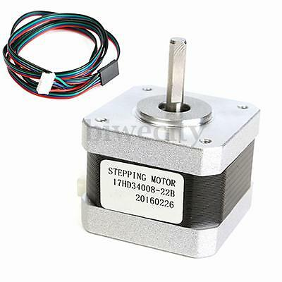 Nema 17 Stepper Motor 300mN.m For CNC Reprap Prusa Mendel Makerbot 3D Printer