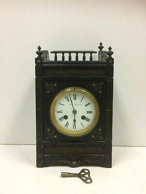 Antique French Slate Clock