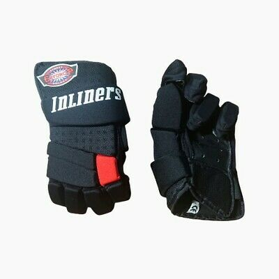 Inliners 'Enforcer' Black Hockey Gloves (Pair) *Check for Sizes*