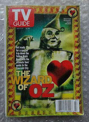 WIZARD OF OZ - July 1, 2000 TV GUIDE - JACK HALEY as HICKORY as TIN MAN Cover