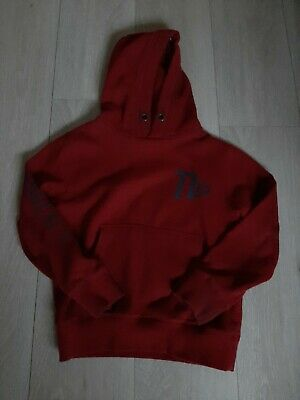 Next Boys Red Hoodie Hoody Age 7 Years excellent condition