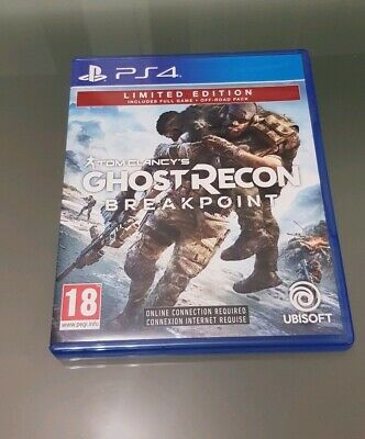 Tom Clancy's Ghost Recon Breakpoint PS4 Italiano - Limited edition