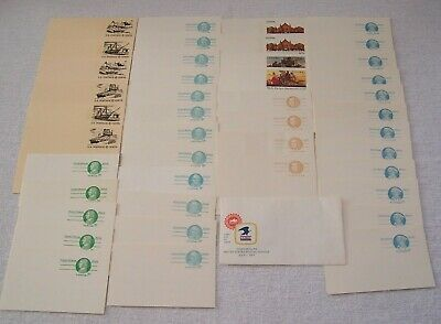 43 Postage Post Cards & One 1st Day of Issue Inaugurating the USPS July 1, 1971