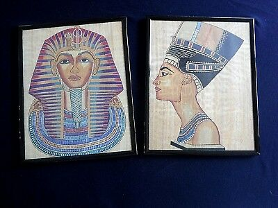 Ancient Egyptian Themed Prints Framed set of Two