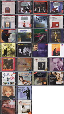Big Lot of 28 DECCA, LONDON & PHILLIPS Classical Music CDs by Various Artists