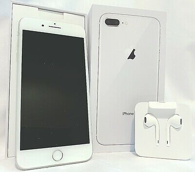 Apple iPhone 8 Plus - 64GB - A1897 (GSM) Silver Unlocked SIM Free Smartphone