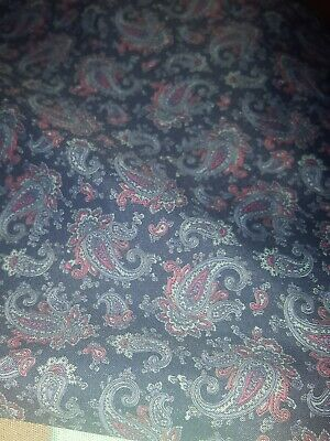 paisley  vintage dressing gown large