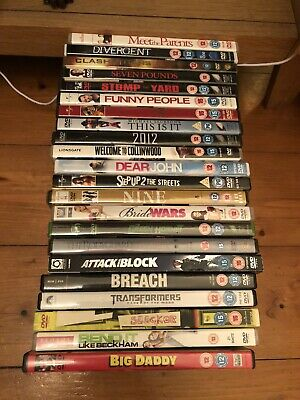 BULK JOB LOT DVDS X 47 Kids And Adults Some Unopened And Special Edition