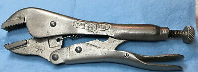"Vise-Grip 7R  7/"" Locking Pliers Straight Jaws  Made in USA No more in future."