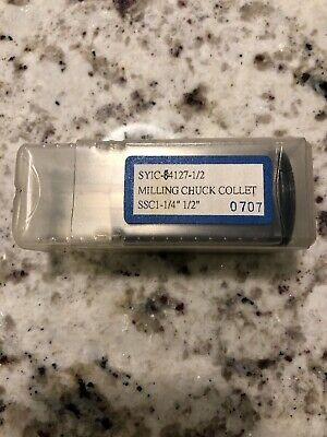 "SYIC-SSC 1-1/4"" - 1/2"" Milling Collet"