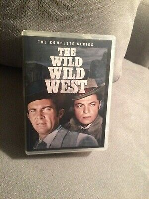 THE WILD WILD WEST, The Complete Series DVD Box Set mostly unplayed