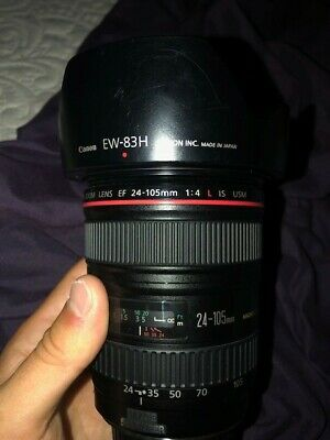 Canon Zoom Lens EF 24-105mm F/4l L IS USM Image Stabilizer - Great Condition