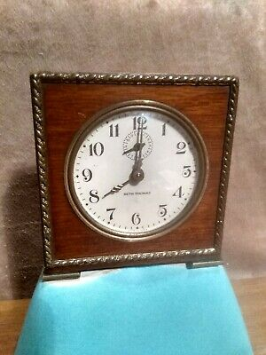 Antique/Vintage 1930's Seth Thomas Severn Mini Alarm Clock In Perfect Working...