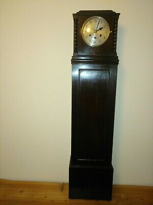 /Antique Grand daughter clock with Westminster chime