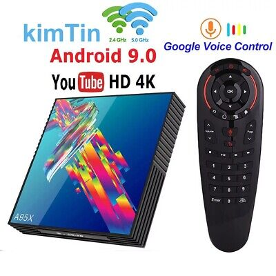 TV Box Android 9 A95X R3 RK3318 Smart TV Box 64G With Voice Air Mouse