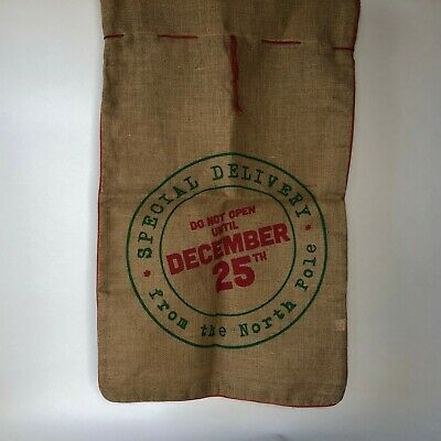 Two's Company Bag  Special Delivery North Pole Do Not Open Until December 25
