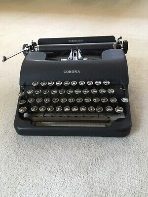 L.c. Smith Corona Vintage Typewriter 1944 Floating Shift  - Usa Made - With Case