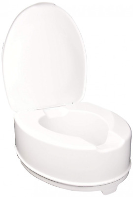 Raised Toilet Seat with Mounting System, 14 cm