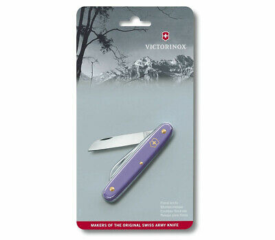 Victorinox Swiss Pocket Knife Ecoline Floral Violet 95Mm 3.9050.22B1