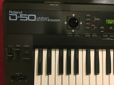 Roland D-50 synthesiser. Late model. Perfect working. With case.