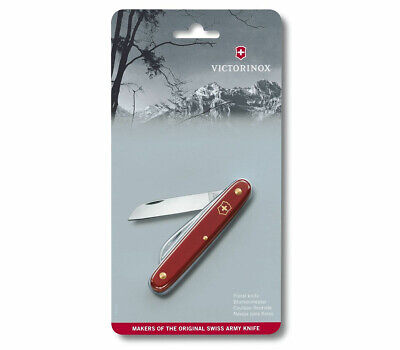 Victorinox Swiss Pocket Knife Ecoline Floral Red 95Mm 3.9050.B1