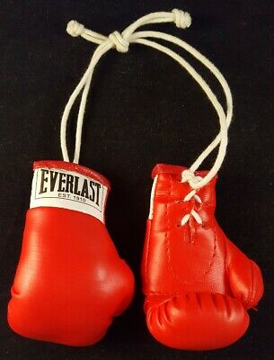 "Title Boxing 3.5/"" Authentic Detailed Mini Pro Fight Lace Up Gloves"