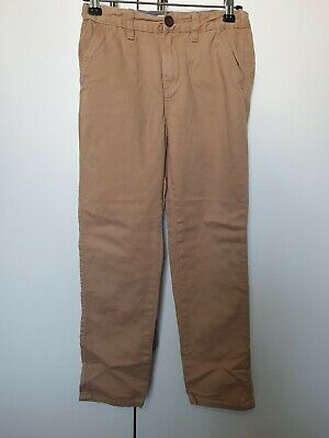 Primark Boys Tan Brown Slim Jeans Age 10-11 Years