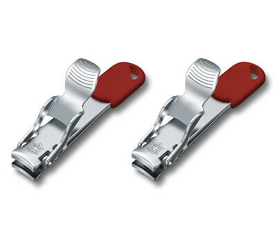 Set Of 2 Victorinox Swiss Made Nail Clipper 2 Functions 8.2050.B1