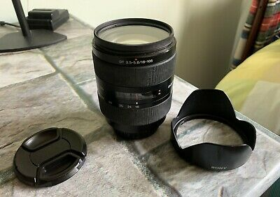 Obiettivo Sony DT 16-105 mm f3.5-5.6 Lens sony A-Mount Made in Japan + filtro UV