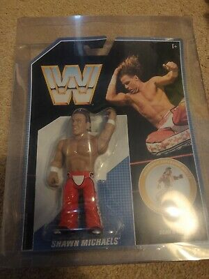 WWE Shawn Michaels Mattel Retro Action Figure Hasbro Series 7 In Protective Case