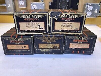Vintage Jewell Electrical Instruments Co. Guage / Meter Boxes
