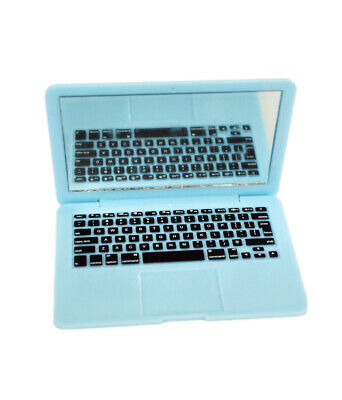 Blue Laptop for American Girl Dolls 18 Inch Doll Laptop