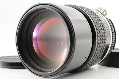 【NEAR MINT】NIKON AIS NIKKOR 135mm F/2.8 1:2.8 MF Telephoto Lens From JAPAN