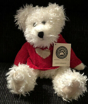 """Bearlove 12/"""" NEW//Tag From Retail Store VALENTINE/'S Boyds Plush #912651 Juliet S"""