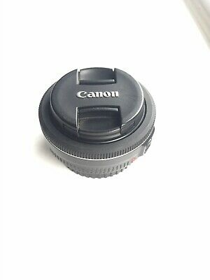 Canon EF 40mm f/2.8 STM pancake lens in very good condition with box