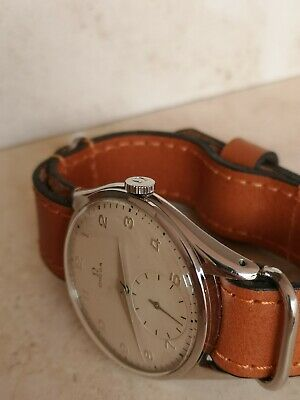 Vintage Swiss Omega Watch Cal. 30 T2  Jumbo 38Mm Stainless Steel