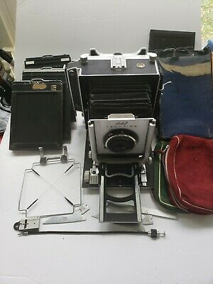 LINHOF  4x5 Large Format camera with bits as picture