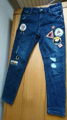 BNWOT Marks and Spencer skinny jeans age 7-8