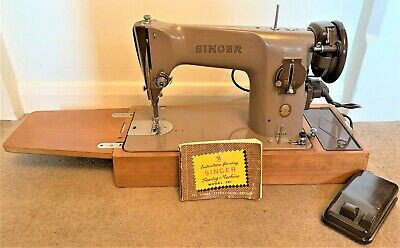 Singer 201K Electric Sewing Machine, Light Industrial, Good Working Order.