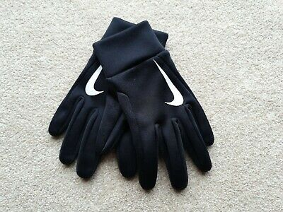 Boys Nike Hyperwarm Football Gloves
