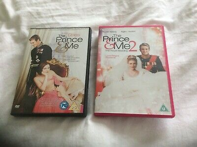 The Prince and Me/The Prince and Me 2 -The Royal Wedding DVDS. Both watched once