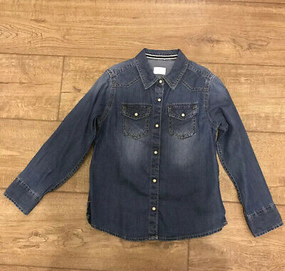 Next Girl's Denim Shirt Size 7 Years