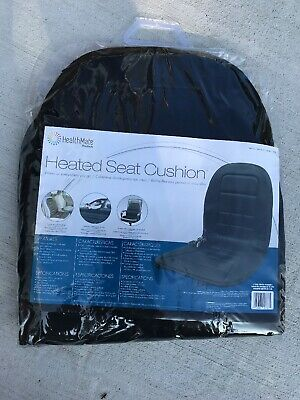 Wagan Soft Velour 12V Heated Seat Cushion Ultra Plush with High//Low//Off Tempe...