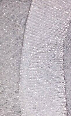 Silver Tights 1st Holy Communion. Girls white silver