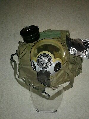 NEW MSA Millennium CBRN M4C2 MSA-12940-150  Riot Gas Mask Medium CASE Military