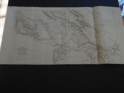 """Antique Map """"Map of Chaldaea, Susuana to illustrate Journeys to Several Ancient"""""""