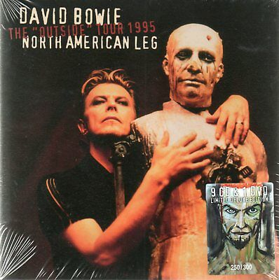 David Bowie - Outside Tour 1995 - 9Cd+Dvd Box-Set N°236/300 - Pro-Shot - Sealed