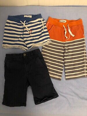 Bundle Of 3 X Boys Shorts Age 5-6yrs Mini Boden, Next