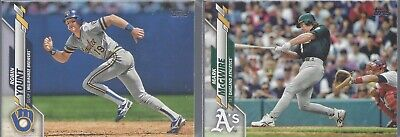 2020 Topps Series 1 Short Print Photo Variations SP ~ Pick your Card